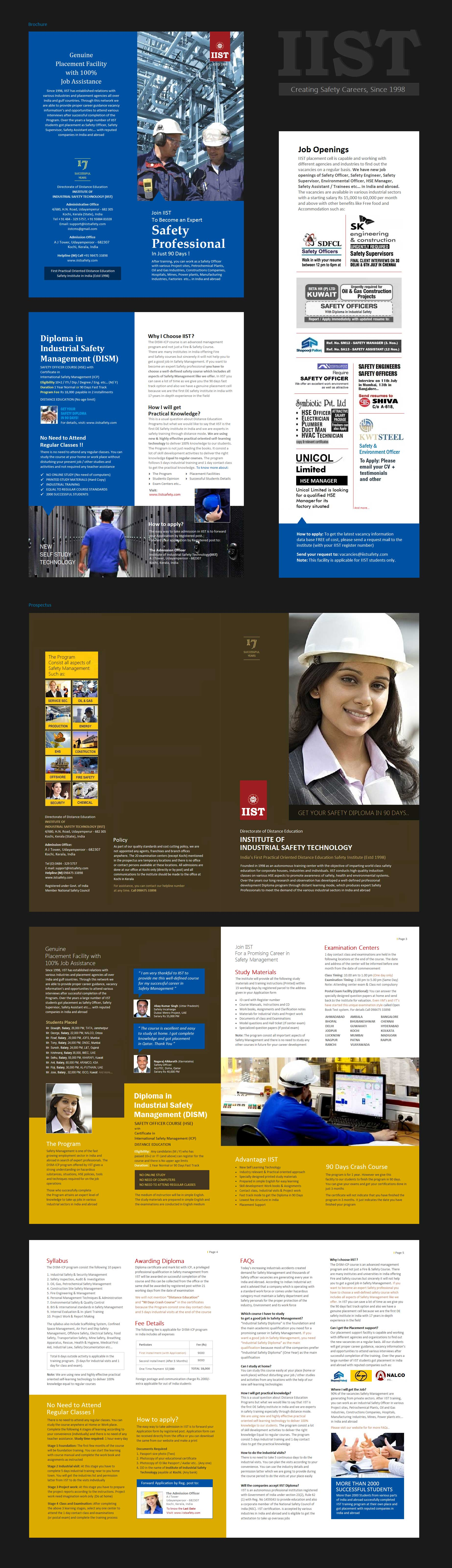 IIST Distance Education - Diploma in Safety & Renewable Energy India
